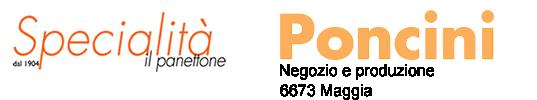 Panetteria-Pasticceria-Confiserie Poncini